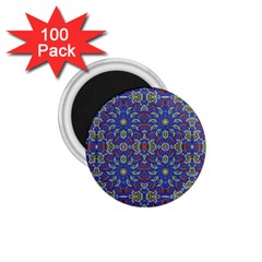 Colorful Ethnic Design 1 75  Magnets (100 Pack)  by dflcprints