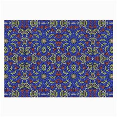 Colorful Ethnic Design Large Glasses Cloth (2 Side) by dflcprints
