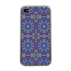 Colorful Ethnic Design Apple Iphone 4 Case (clear) by dflcprints