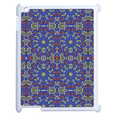 Colorful Ethnic Design Apple Ipad 2 Case (white) by dflcprints