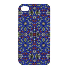 Colorful Ethnic Design Apple Iphone 4/4s Hardshell Case by dflcprints