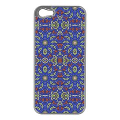 Colorful Ethnic Design Apple Iphone 5 Case (silver) by dflcprints