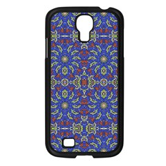 Colorful Ethnic Design Samsung Galaxy S4 I9500/ I9505 Case (black) by dflcprints