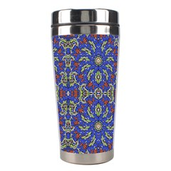 Colorful Ethnic Design Stainless Steel Travel Tumblers by dflcprints