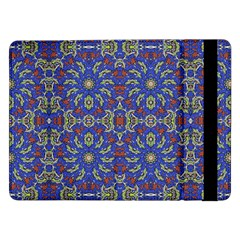 Colorful Ethnic Design Samsung Galaxy Tab Pro 12 2  Flip Case by dflcprints