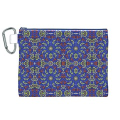 Colorful Ethnic Design Canvas Cosmetic Bag (xl) by dflcprints