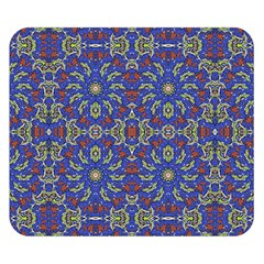 Colorful Ethnic Design Double Sided Flano Blanket (small)  by dflcprints
