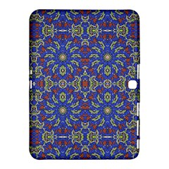 Colorful Ethnic Design Samsung Galaxy Tab 4 (10 1 ) Hardshell Case  by dflcprints