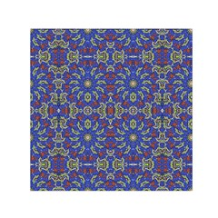 Colorful Ethnic Design Small Satin Scarf (square)  by dflcprints
