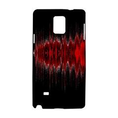 Light Samsung Galaxy Note 4 Hardshell Case by ValentinaDesign