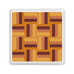 Geometric Pattern Memory Card Reader (square)  by linceazul