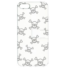 Skull Pattern Apple Iphone 5 Hardshell Case With Stand by ValentinaDesign