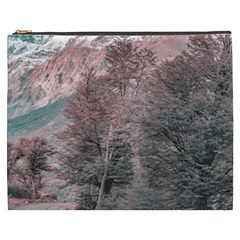 Gravel Empty Road Parque Nacional Los Glaciares Patagonia Argentina Cosmetic Bag (xxxl)  by dflcprints