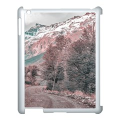 Gravel Empty Road Parque Nacional Los Glaciares Patagonia Argentina Apple Ipad 3/4 Case (white) by dflcprints