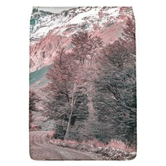 Gravel Empty Road Parque Nacional Los Glaciares Patagonia Argentina Flap Covers (s)  by dflcprints