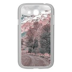 Gravel Empty Road Parque Nacional Los Glaciares Patagonia Argentina Samsung Galaxy Grand Duos I9082 Case (white) by dflcprints