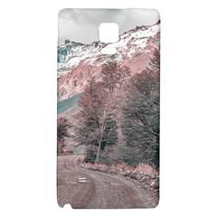 Gravel Empty Road Parque Nacional Los Glaciares Patagonia Argentina Galaxy Note 4 Back Case by dflcprints