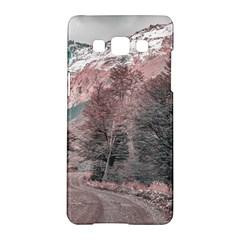 Gravel Empty Road Parque Nacional Los Glaciares Patagonia Argentina Samsung Galaxy A5 Hardshell Case  by dflcprints