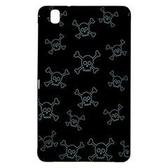 Skull Pattern Samsung Galaxy Tab Pro 8 4 Hardshell Case by ValentinaDesign