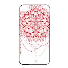 Mandala Pretty Design Pattern Apple Iphone 4/4s Seamless Case (black) by Nexatart