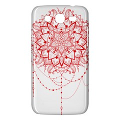 Mandala Pretty Design Pattern Samsung Galaxy Mega 5 8 I9152 Hardshell Case  by Nexatart
