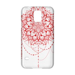Mandala Pretty Design Pattern Samsung Galaxy S5 Hardshell Case  by Nexatart