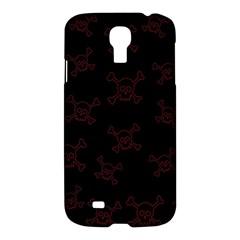 Skull Pattern Samsung Galaxy S4 I9500/i9505 Hardshell Case by ValentinaDesign
