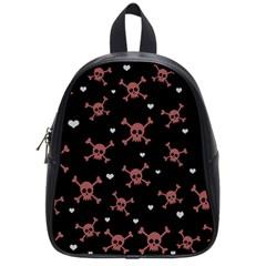 Skull Pattern School Bags (small)  by ValentinaDesign