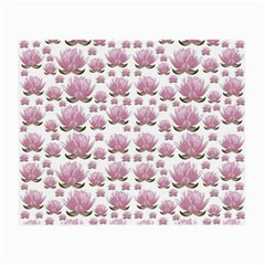 Lotus Small Glasses Cloth by ValentinaDesign