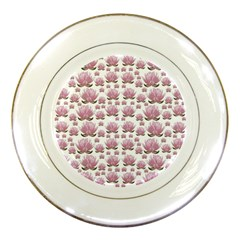 Lotus Porcelain Plates by ValentinaDesign