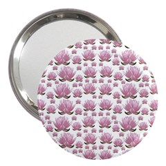 Lotus 3  Handbag Mirrors by ValentinaDesign