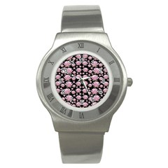 Lotus Stainless Steel Watch by ValentinaDesign