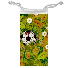 Ball On Forest Floor Jewelry Bag by linceazul