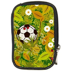 Ball On Forest Floor Compact Camera Cases by linceazul