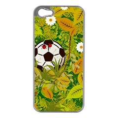 Ball On Forest Floor Apple Iphone 5 Case (silver) by linceazul