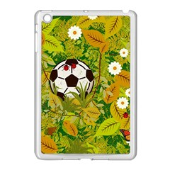 Ball On Forest Floor Apple Ipad Mini Case (white) by linceazul