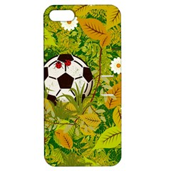 Ball On Forest Floor Apple Iphone 5 Hardshell Case With Stand by linceazul