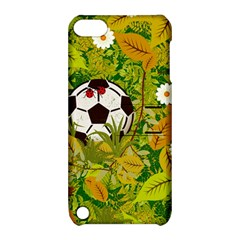 Ball On Forest Floor Apple Ipod Touch 5 Hardshell Case With Stand by linceazul