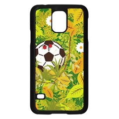 Ball On Forest Floor Samsung Galaxy S5 Case (black) by linceazul