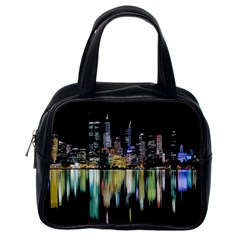 City Panorama Classic Handbags (one Side) by Valentinaart