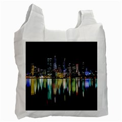 City Panorama Recycle Bag (one Side) by Valentinaart