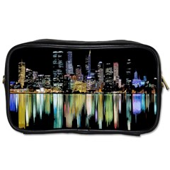 City Panorama Toiletries Bags by Valentinaart