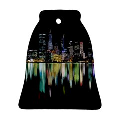 City Panorama Bell Ornament (two Sides) by Valentinaart