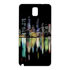City Panorama Samsung Galaxy Note 3 N9005 Hardshell Back Case by Valentinaart