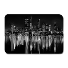 City Panorama Plate Mats by Valentinaart