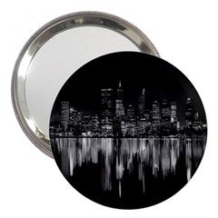 City Panorama 3  Handbag Mirrors by Valentinaart