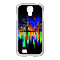 City Panorama Samsung Galaxy S4 I9500/ I9505 Case (white) by Valentinaart