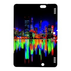 City Panorama Kindle Fire Hdx 8 9  Hardshell Case by Valentinaart