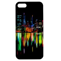 City Panorama Apple Iphone 5 Hardshell Case With Stand by Valentinaart