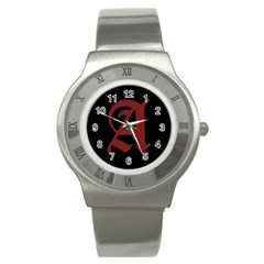 The Scarlet Letter Stainless Steel Watch by Valentinaart